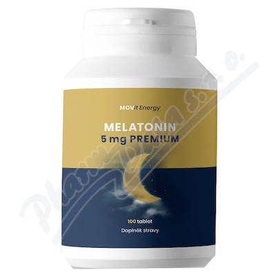 MOVit Melatonin Premium 5 mg, 100 tablet