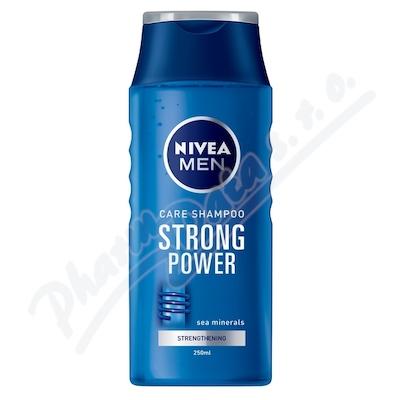 NIVEA šampon muži Strong Power 250ml 81423