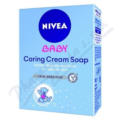 NIVEA Baby krémové mýdlo 100g 80500