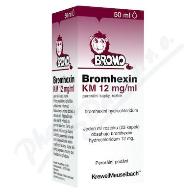 Bromhexin KM 8mg/ml por.gtt.sol.1x50ml
