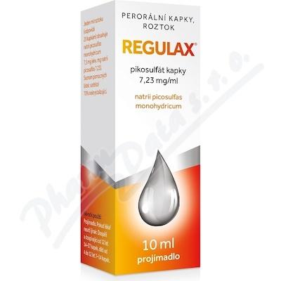 Regulax Pikosulfat kapky 7.23mg/ml gtt.sol.1x10ml