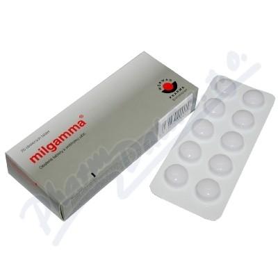 milgamma 20 obalených tablet