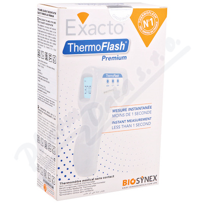 Teploměr lék.bezkontakt.Exacto ThermoFlash Premium