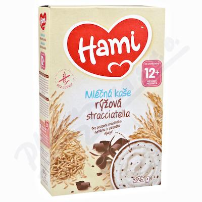 Hami mléčná kaše rýžová stracciatella 225g 12M
