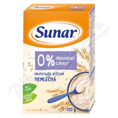 Sunar První kaše rýžová nemléčná 220 g