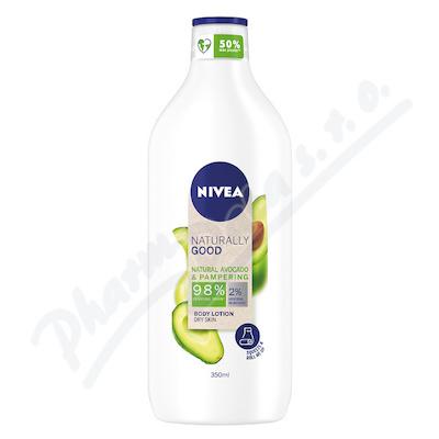 NIVEA těl.ml.Naturally Good Avocado 350ml 96783