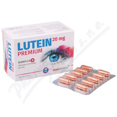 Lutein Premium 20 mg 60 tobolek Moje lékárna
