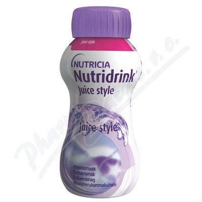Nutridrink Juice style př.čer.ryb.por.sol.4x200ml