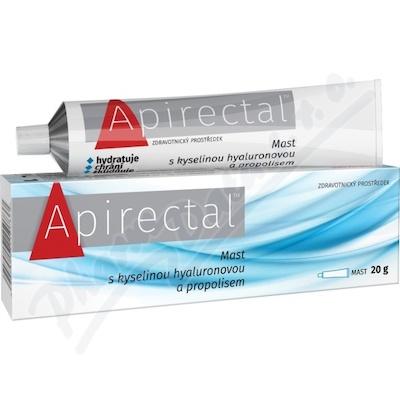 Apirectal Mast s kys.hyaluronovou a propolisem 20g