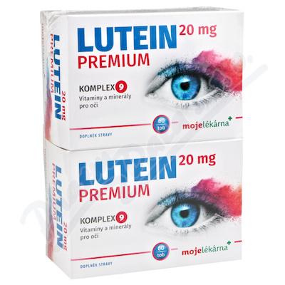 Lutein Premium 20mg tob.60+60 Moje lékárna