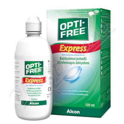 Opti Free Express 120ml+pouzdro na čočky