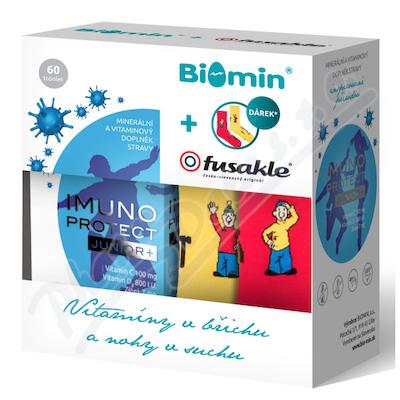 Biomin IMUNO PROTECT JUNIOR+ tob.60+dárek Fusakle