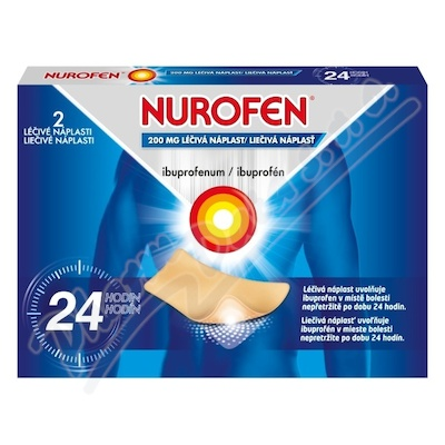 Nurofen 200 mg léčivé náplasti 2 ks