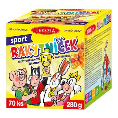 RAKYTNÍČEK želatinky 70ks Sport