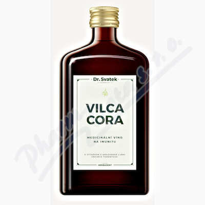 Dr.Svatek VILCACORA Medicinální víno 500ml