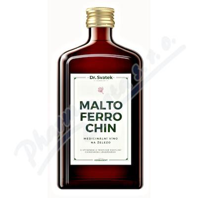 Dr.Svatek MALTOFERROCHIN Medicinální víno 500ml