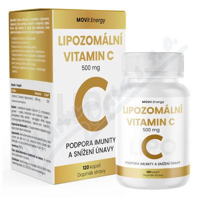 MOVit Lipozomální Vitamin C 500 mg, 120 kapslí