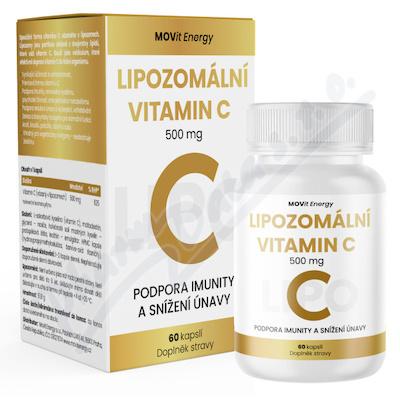 MOVit Lipozomální Vitamin C 500 mg, 60 kapslí