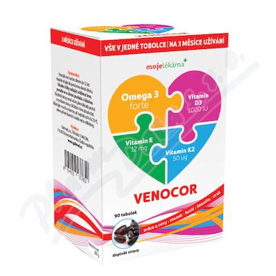 Venocor tob.90 Moje lékárna