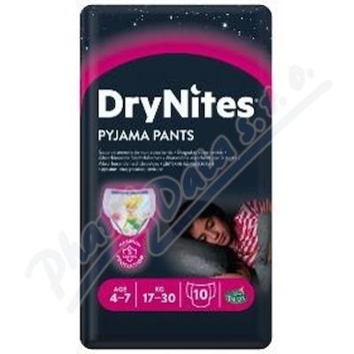 DryNites kalh.abs. pro dívky 4-7 let/17-30kg/10ks