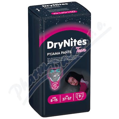 DryNites kalh.abs. pro dívky 8-15 let/27-57kg/9ks