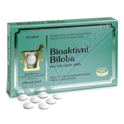 Bioaktivní Biloba tbl.60