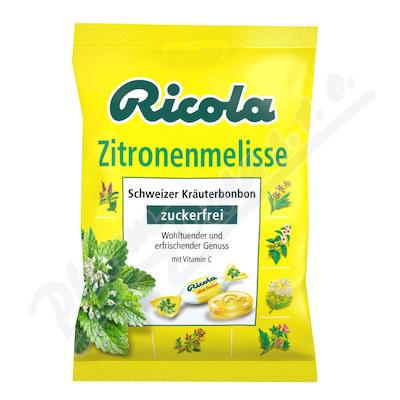 RICOLA Meduňka bez cukru 75g