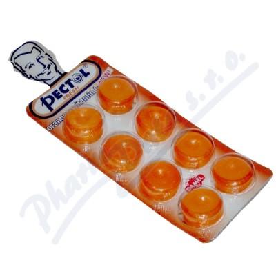 Pectol pomerančový drops s vit.C blistr 8ks