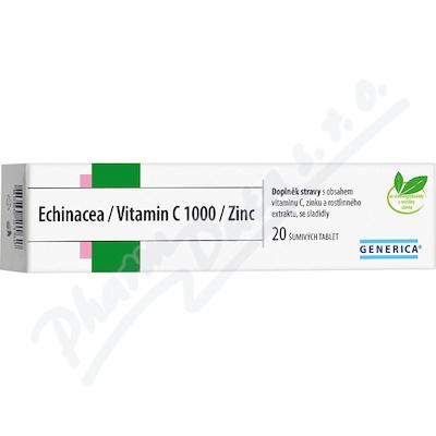 Echinacea/Vitamin C 1000/Zinc Generica eff.tbl.20