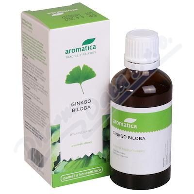AROMATICA Ginkgo Biloba bylinné kapky 50ml