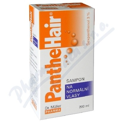 Panthehair šampon na norm.vlasy 200ml Dr.Müller