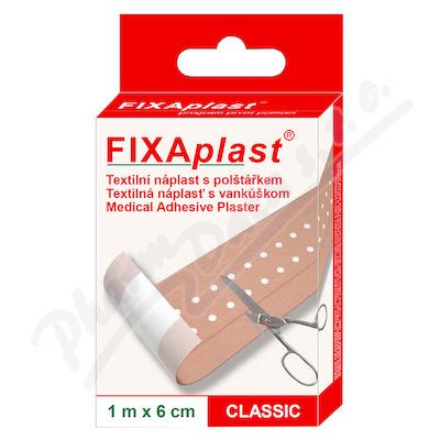 FIXAplast tex. náplast s polštářkem CLASSIC 1mx6cm