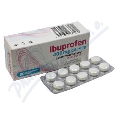 Ibuprofen 400mg Galmed por.tbl.flm.30x400mg