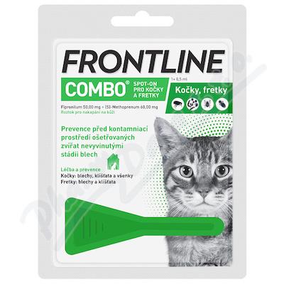Frontline Combo Spot-on cat a.u.v.sol.1x0.5ml