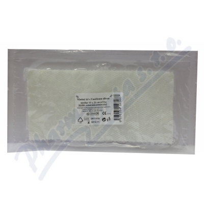 Krytí sterilní-mastný tyl 10x20cm/5ks Steriwund