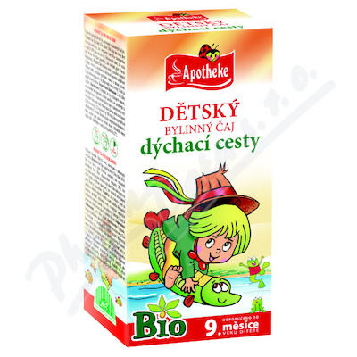 Apotheke Dětský čaj BIO dýchací cesty 20x1.5g