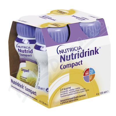 Nutridrink Compact s přích.banán por.sol.4x125ml