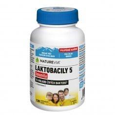NatureVia Laktobacily 5 Imunita cps.120