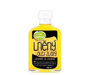 Green Apotheke olej lněný zlatý 200ml