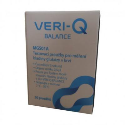 Testovací proužky VERI Q  Balance Pro 50ks
