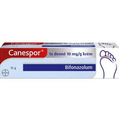 Canespor 1x denně 10 mg/g krém