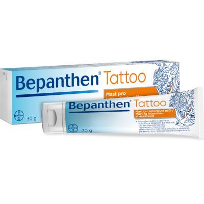 Bepanthen Tattoo mast 30g, péče o nové tetování