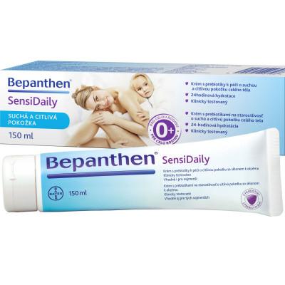 Bepanthen SensiDaily krém 150ml pro hydrataci suché a citlivé kůže