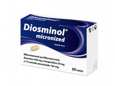 DIOSMINOL MICRONIZED, tablety, 60ks