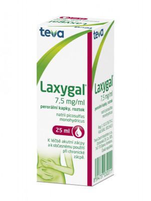 Laxygal; 7,5mg/ml, perorální kapky, roztok, 25 ml