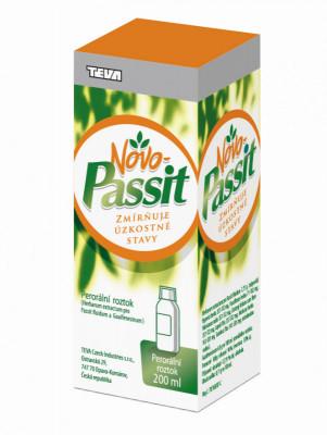 NOVO-PASSIT, 77,5mg/ml+ 40mg/ml, perorální roztok, 200ml