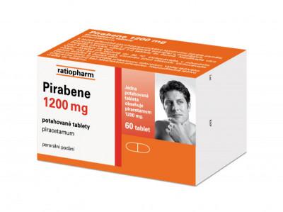 PIRABENE 1200 MG, potahované tablety, 60ks