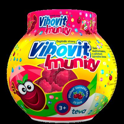 Vibovit Imunity želé multivitaminy 50 ks