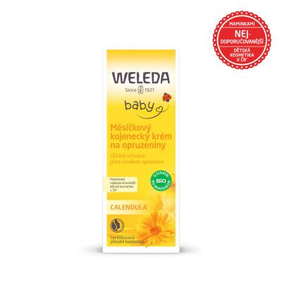 WELEDA Měsíčkový kojenecký krém na opruzeniny 75ml