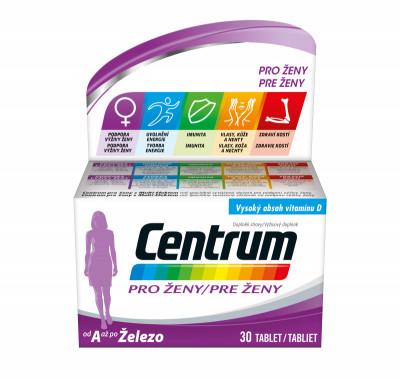 Multivitamin Centrum pro ženy 30tbl